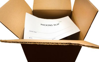 Packing Slip Dispatch to Online Customer